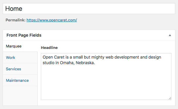 Omaha WordPress and Concrete5 Content Management System